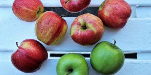 Manzanas buenas para los dientes